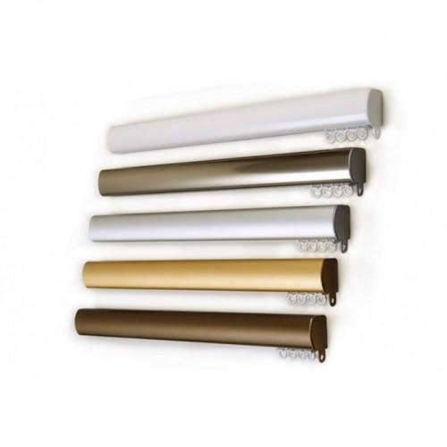 Οβαλ με μηχανισμό - Λευκός, Νικελ, Inox, Χρυσός, Αντικέ