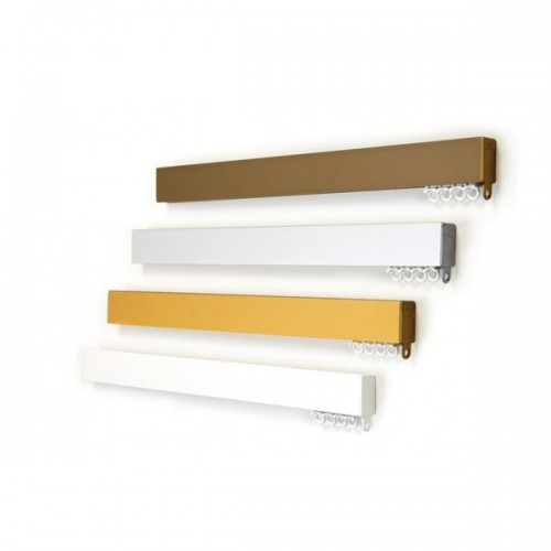 Πλακέ με μηχανισμό - Λευκός, Νικελ, Χρυσός, Αντικέ